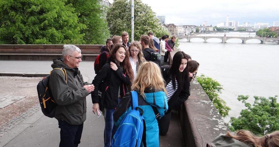 wymiana młodzieży z Zamościa z Freiburgiem