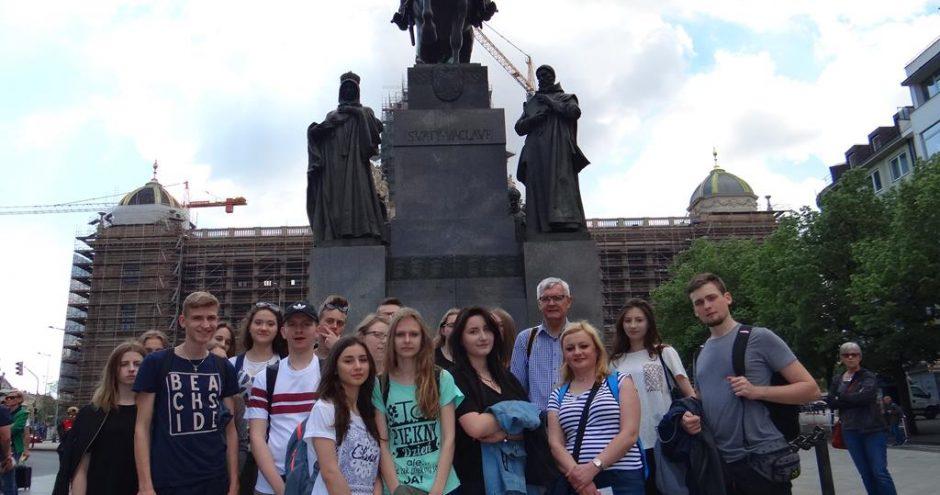 uczniowe z Zamościa na wymianie polsko-niemieckiej