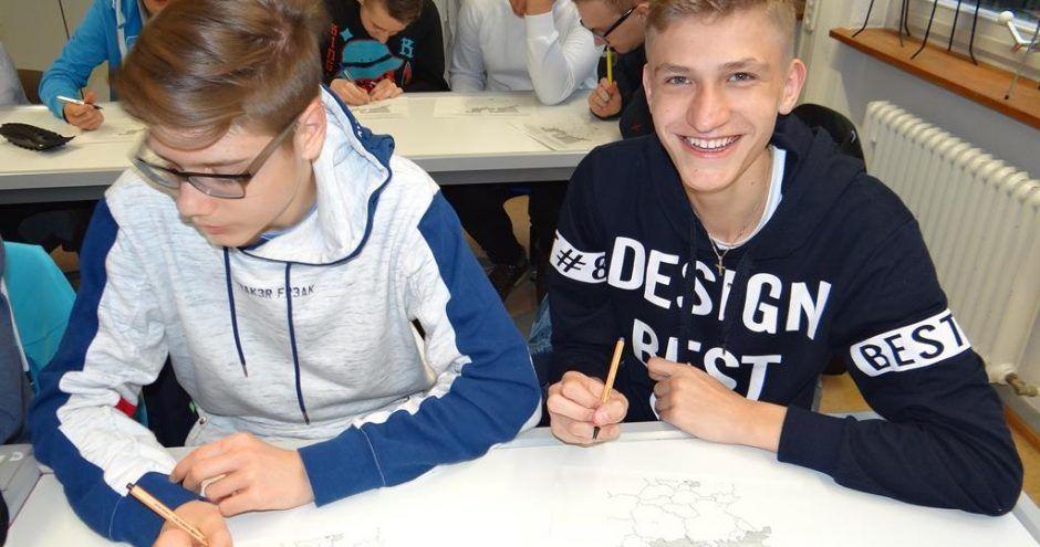 wymiana polsko niemiecka szkoła w zamościu - wspólne zajęcia
