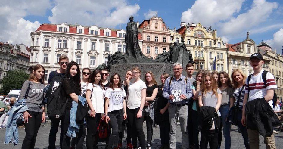 uczniowie na wymianie polsko-niemieckiej ze Szkołą Języków Obcych Bacalarus