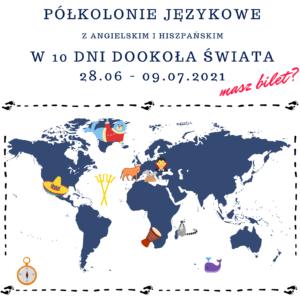 Półkolonia językowa w szkole językowej Bacalarus z Zamościa